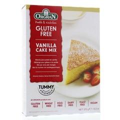 Orgran Vanille cake mix (375 gram)
