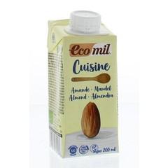 Ecomil Cuisine amandel (200 ml)