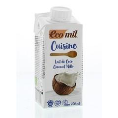 Ecomil Kokosmelk cuisine (200 ml)