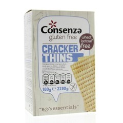 Consenza Rob's essentials cracker thins (180 gram)