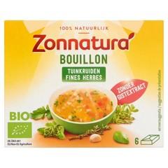 Zonnatura Fine herbstock bouillon zonder gist (66 gram)