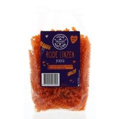 Your Organic Nat Rode linzen pasta glutenvrij (250 gram)