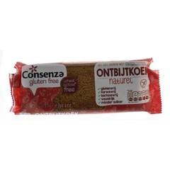 Consenza Ontbijtkoek reep naturel (65 gram)