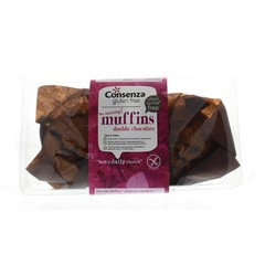 Consenza Double chocolate muffin (150 gram)