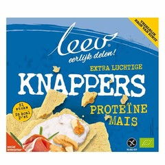 Leev Bio Knappers mais proteine glutenvrij (150 gram)