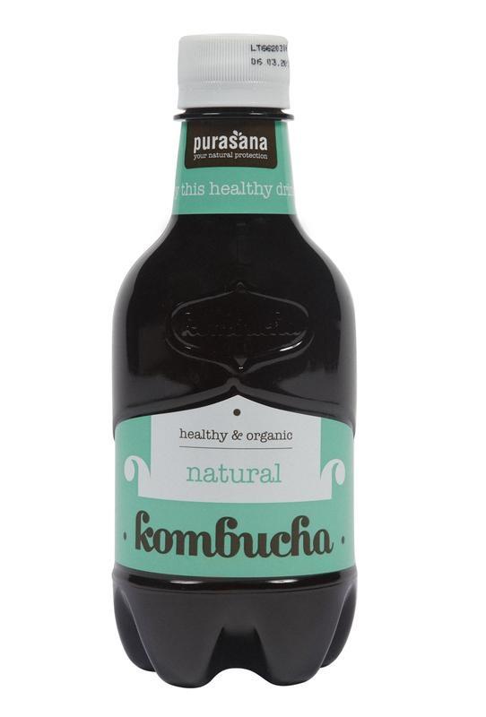 Purasana Komboecha drink original (330 ml)