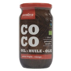 Purasana Fairtrade virgin coconut oil (750 ml)