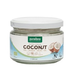 Purasana Fairtrade virgin coconut oil (250 ml)