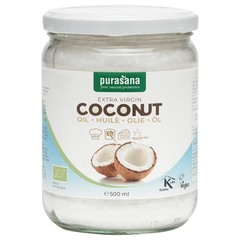 Purasana Fairtrade virgin coconut oil (500 ml)
