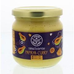 Your Organic Nat Sandwichspread papaya-curry (180 gram)