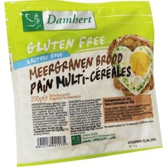 Damhert Meergranenbrood glutenvrij (200 gram)