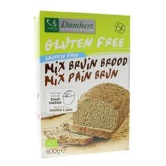 Damhert Bruinbrood mix glutenvrij (400 gram)
