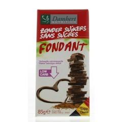 Damhert Chocoladetablet puur (85 gram)