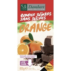 Damhert Chocoladetablet puur/sinaas (85 gram)