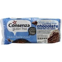 Consenza Rijstwafel chocolade lactosevrij (100 gram)