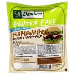 Damhert Hamburgerbrood glutenvrij (90 gram)