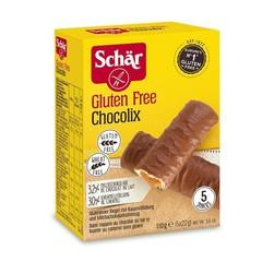 Dr Schar Caramel bar chocolix (110 gram)