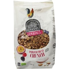 Royal Green Cereals power fruit crunch (375 gram)