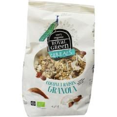 Royal Green Cereals coconut raisin granola (425 gram)