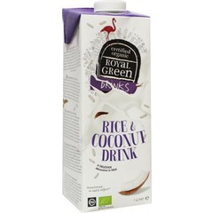 Royal Green Rice & coconut drink (1 liter)