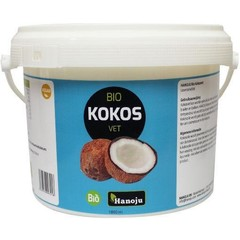 Hanoju Kokosolie geurloos bio (1800 ml)