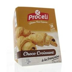Proceli Chocolade croissant 3 stuks (170 gram)