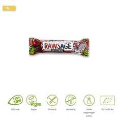 Lifefood Rawsage original hartige snackreep bio (25 gram)