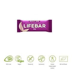 Lifefood Lifebar vijg bio (47 gram)