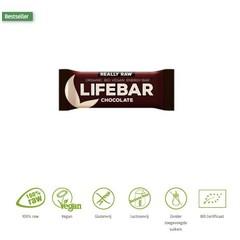 Lifefood Lifebar chocolade bio (47 gram)