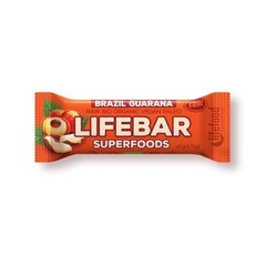 Lifefood Lifebar plus brazil guarana bio (47 gram)