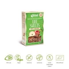 Lifefood Life sweets appel kaneel raw & bio (80 gram)