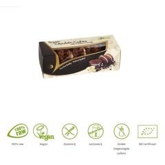 Lifefood Cashew creme chocolade koekjes raw & bio (80 gram)