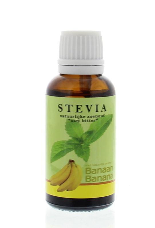 Beautylin Beautylin Stevia banaan glazen fles met druppeldop (30 ml)