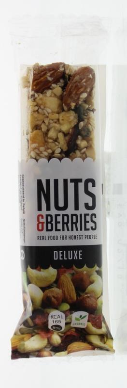 Nuts & Berries Nuts & Berries Bar deluxe (40 gram)