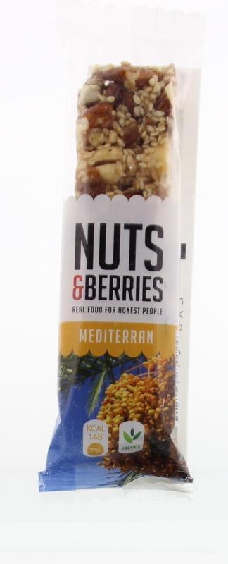 Nuts & Berries Nuts & Berries Bar mediterran (40 gram)