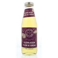 Your Organic Nat Limonadesiroop vlierbloesem (500 ml)