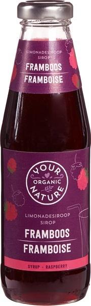 Your Organic Nat Your Organic Nat Limonadesiroop framboos (500 ml)