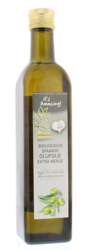 It's Amazing It's Amazing Spaanse olijf olie extra vierge bio (500 ml)