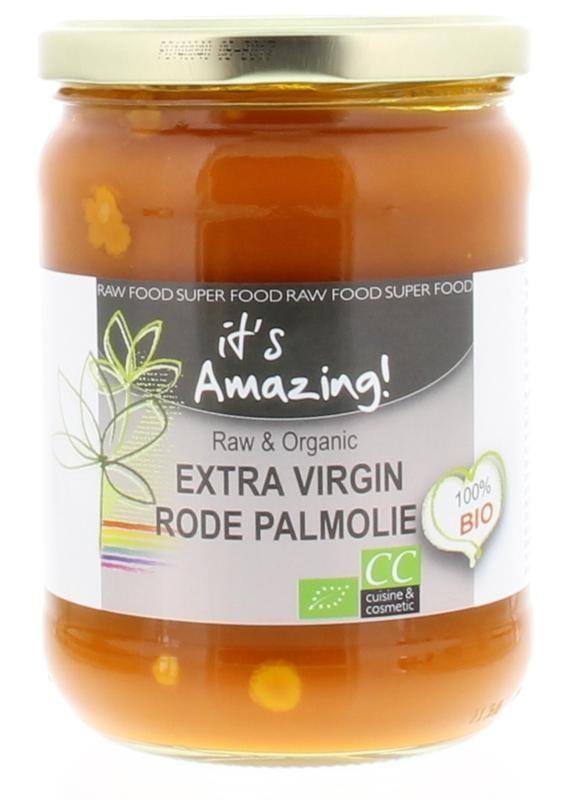 It's Amazing It's Amazing Rode palm olie bio (500 ml)