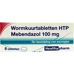 Healthypharm Mebendazol/wormkuur 100 mg