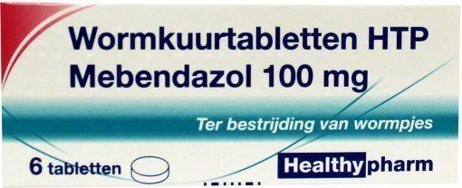 Healthypharm Healthypharm Mebendazol/wormkuur 100 mg
