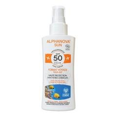Sun spray SPF50 gevoelige huid bio
