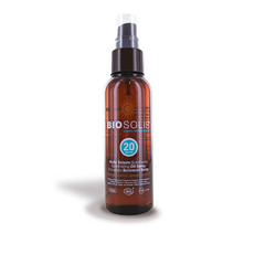 Sun oil SPF 20