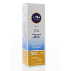 Sun face hydraterende mousse SPF50+