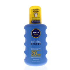 Sun protect & bronze zonnespray SPF20