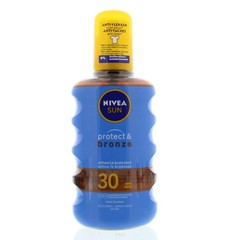 Sun protect & bronze olie spray spf30