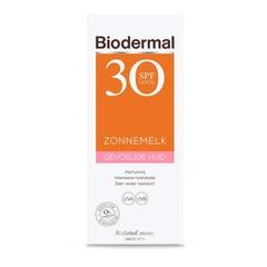 Zonnemelk SPF30 gevoelige huid