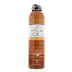 Instant sunless spray