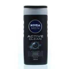 Nivea Men douche active clean (250 ml)