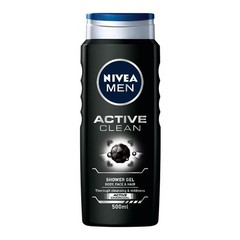 Nivea Men douche active clean (500 ml)